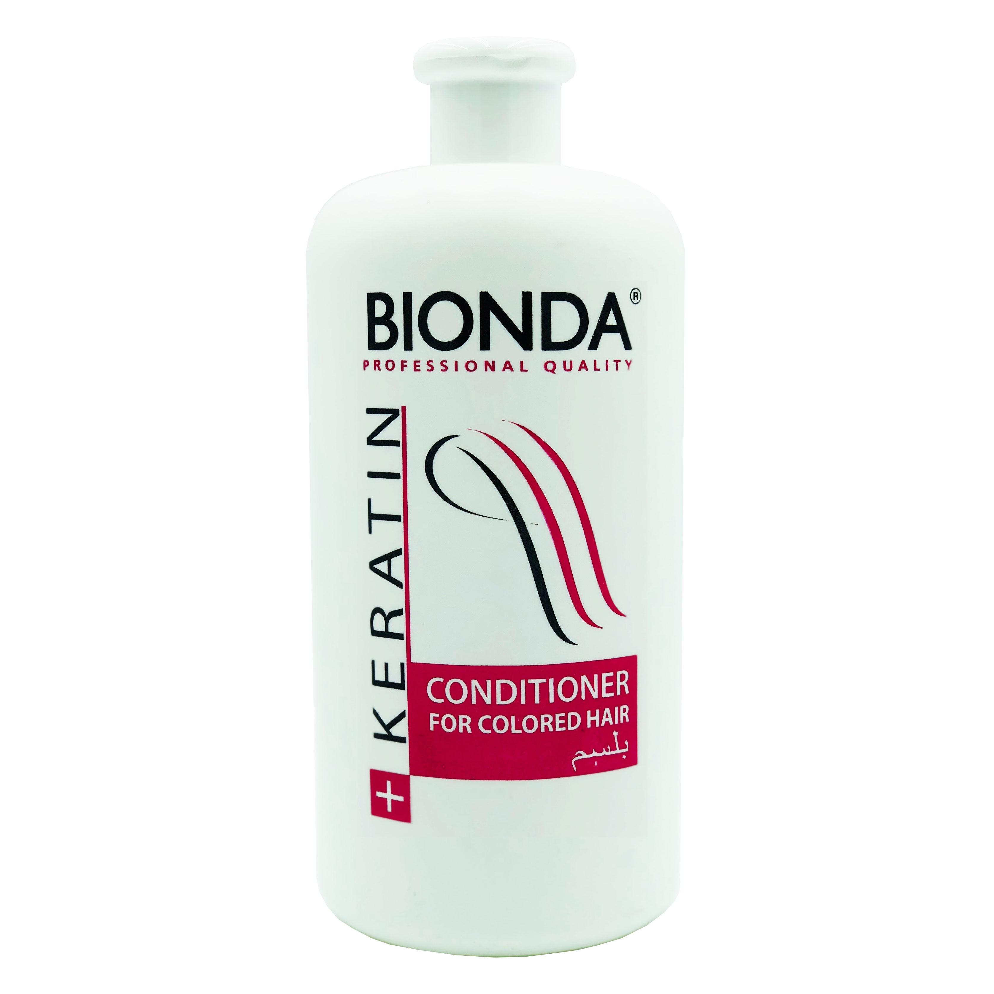Bionda Professional Кондиционер с Кератином для окрашенных волос 1000 мл